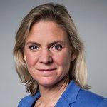 Porträtt av Magdalena Andersson