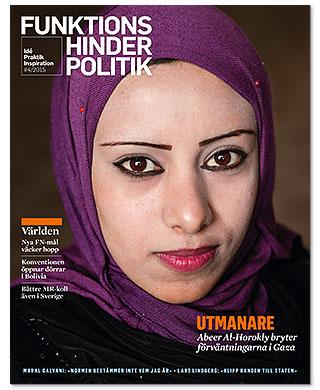 Abeer Al-horokly är på omslaget.