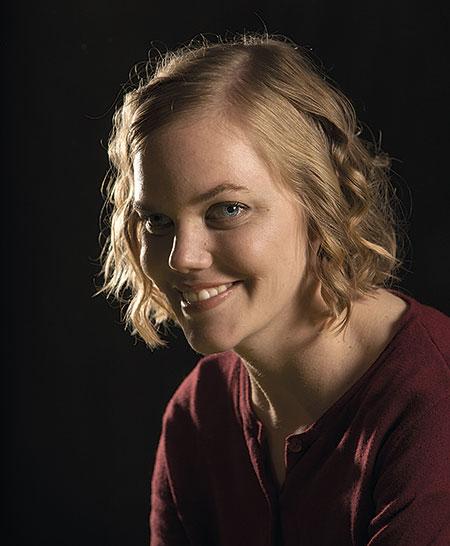 Porträtt av Ylva Andersson. (Foto: Anna Rehnberg)