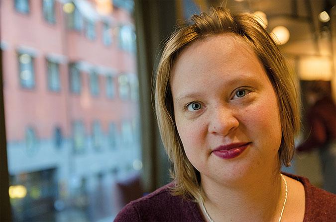 Porträtt av Hanna Öfors
